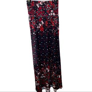 Lularoe Floral Maxi Skirt NWT